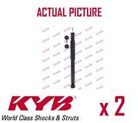 2 x NEW KYB REAR AXLE SHOCK ABSORBERS PAIR STRUTS SHOCKERS OE QUALITY 344805