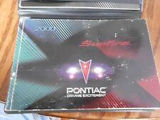 2000 Pontiac Sunfire Owners manual