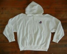 SANTA BARBARA White Warm SAILING HOODIE Sail Boat Beach Sweatshirt Sz Men's XXL