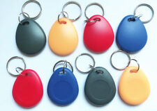 10X 125Khz RFID T5577 Writable Keyfobs Proximity Smart Key Card for RFID Copier