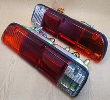 FOR DATSUN 620 PICKUP TRUCKA PAIR REAR OF TAIL LIGHTS LH RH RED CLEAR AMBER