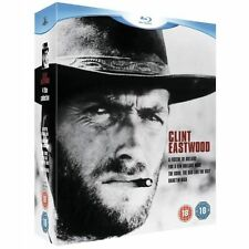 Clint Eastwood Collection - A Fistful Of Dollars/The Good, The Bad And The Ugly/For A Few Dollars More/Hang 'Em High (Blu-ray, 2010, Box Set)
