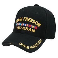 Iraqi Freedom Veteran US Military Baseball Cap Caps Hat