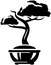 "12"" BONSAI LITTLE TREE JAPAN ASIAN STYLE DECOR WALL ART VINYL DECAL STICKER #5"