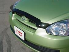 Fits Hyundai Accent 2008 - 2011 Smoke Bug Hood Shield Bugshield Deflector Stone