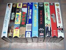 10 Vhs Sealed Comedy Lot: Mash, Holy Grail, Vacation, Weekend at Bernie's, Mail
