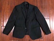 Bocaccio Uomo Navy Blue Two Button Blazer Jacket Lined Boys Size 7 VGUC
