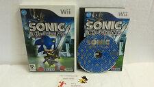 Jeu Vidéo Sonic et le Chevalier Noir VF Wii U Nintendo Compatible WiiU TBE