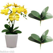 1x Artificial Rose Butterfly Orchid Silk Leaf Fake Flowers Wedding Party Decor