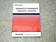 HONDA CB / CBR 650 F / FA , ab 2014 , ABS , RC 74 , RC 75  Werkstatthandbuch