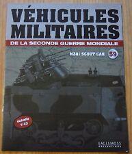 Véhicules militaires de la 2WW, Eaglemoss Collection, n°59, M3 A-1 Scout Car