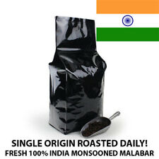 2, 5, 10 lb India Monsoon Malabar Coffee Roasted Fresh Daily Whole Bean Ground