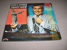 Here's Johnny...Magic Moments from The Tonight Show - 2 Vinyl LP - Poster - NM