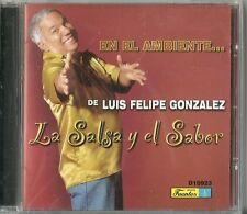 En El Ambiente De Luis Felipe Gonzales La Salsa Y El Sabor Latin Music CD New