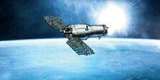 Excalibur Almaz Satellite Spacecraft Wood Model Regular