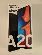 Samsung Galaxy A20 SM-A205U 32GB Black cellphone Metro by T-Mobile Mobile Phone
