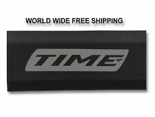 New! Time Chainstay (Chainguard) Reflective Protector Black