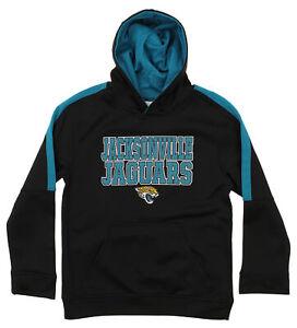 Outerstuff NFL Youth Jacksonville Jaguars Fleece Hoodie, Black
