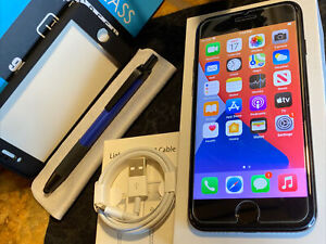 Apple iPhone 7 (128gb) Metro/ T-Mobile/ Sprint (A1660) Jet Black MiNT {iOS14}75%