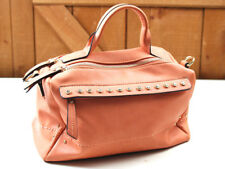 PEACH COLORED BAG WITH SHOULDER STRAP  (STUDIO-25-LH)