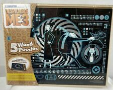 Despicable Me3 Wooden Puzzles in a Wood Storage Box 5 Puzzles New Free Shipping