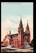 1909 St.John's Church Boise Idaho postcard
