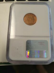 1939 lincoln cent NGC PF 64 RD small scratches on holder,  COIN IS PRISTINE