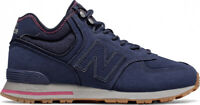 New Balance 574 Mid Top Men's Lifestyle Shoes Navy 2018 New Sneakers MH574RDE
