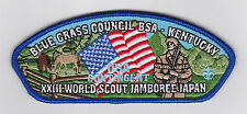 2015 World Scout Jamboree USA BOY SCOUTS OF AMERICA BLUE GRASS Contingent JSP