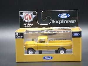 M2 Ford F-100 Custom 4x4 Pickup 1969 Model Kit 37000-34 1//64