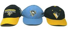 Pittsburgh Penguins Hockey Hat Lot 3 Stanley Cup Champions Vintage Snapback