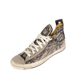 RRP €140 DIESEL EXPOSURE IV W Canvas Sneakers Size 38.5 UK 5.5 US 8 Dirty Look