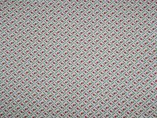 "Vintage Fabric Yardage Kessler Concord Tiny Red Rose Buds * 1 Yard x 45"" w."