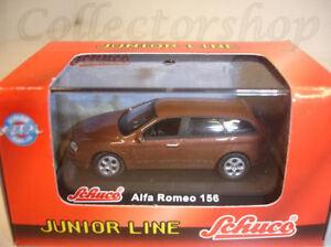 Schuco : Alfa Romeo 156 Wagon bruin metallic 1:72 Art.No: 3316304