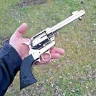 Denix Classic M 1873 Fast Draw Replica Revolver Accurate Details Polished Nickel