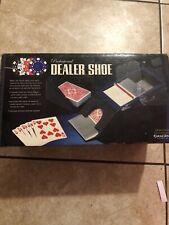 Excalibur Professional 4 Deck Dealer Shoe~2 Decks Includ Vintage~New! Sealed!