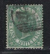 1867 Natal Scott #17 (SG #25) - 1sh Queen Victoria Stamp - Used