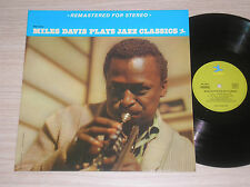 MILES DAVIS PLAYS JAZZ CLASSICS - LP 33 GIRI FRANCE MINT