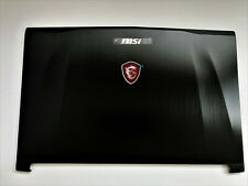 New MSi GE62 2QD 2QF 2QE 6QF 6QD 6QE Screen LCD Back Cover Top Case Tapa trasera