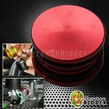 RED ALUMINUM ENGINE CAM SHAFT SEAL COVER CAP PLUG CIVIC DEL SOL S2000 DA DC2