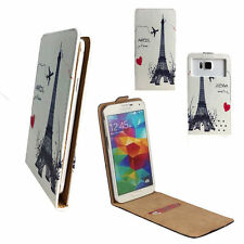 5 Inch IPS Screen Smart Wake Adroid - Tasche Hülle Flip Paris 1 M