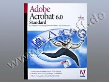 Acrobat 6 Standard Vollversion, deutsch für MacOS X, SKU: 12001558