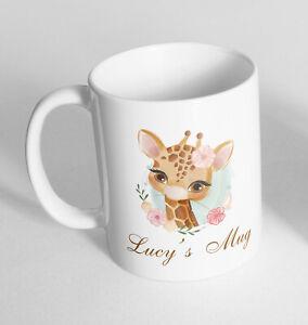 Personalised Giraffe Cup Ceramic Novelty Mug Funny Gift Coffee Tea 75