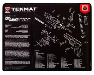"TekMat, For SIG SAUER P320 Premium Pistol Mat,  15""x20"", Black"