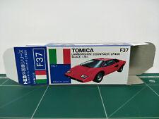 REPRODUCTION BOX for Tomica Blue Box No.F37 Lamborghini Countach LP400