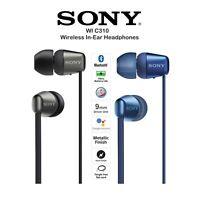 BRAND NEW Sony WI-C310 Wireless In-ear Headphones Headset earphone  BLACK / BLUE