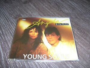 Angela & The Rude - Young Souls * 3 TRACK CD HOLLAND 1990 *