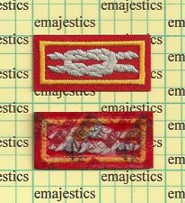 BSA DOCTORATE OF COMMISSIONER SCIENCE AWARD KNOT SCOUT STUFF BACKING MINT REAL
