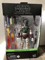 Star Wars The Black Series: Return Of The Jedi Boba Fett 6 Inch Deluxe Figure 🔥