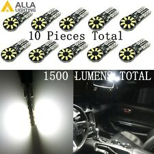 Alla Lighting 10x 18-LED Interior Dome Map Courtesy Light Bulbs Lamps White 194